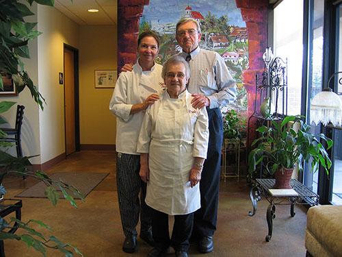 Karen, Papa & Mama Novak
