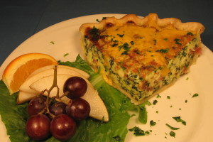 *Breakfast Quiche